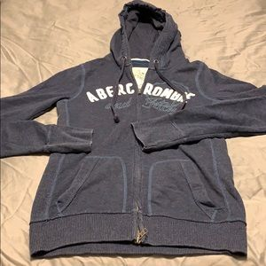AF zip up sweatshirt with hood